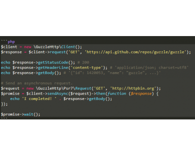 GuzzleHttp 6 PHP-composer